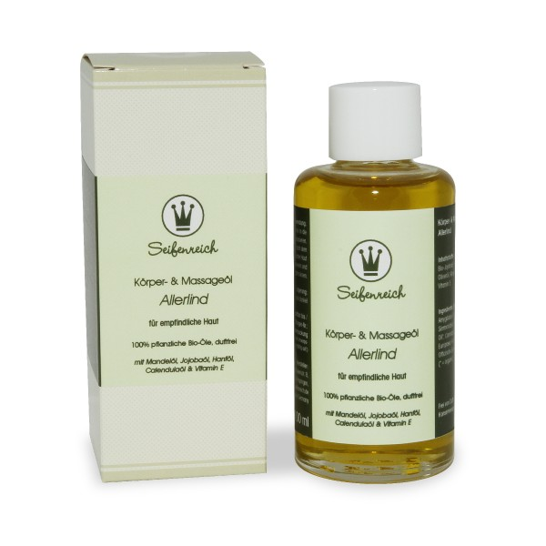 Körper- & Massageöl Hemp Basics (früher: Allerlind)