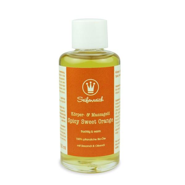 Körper- & Massageöl Spicy Sweet Orange