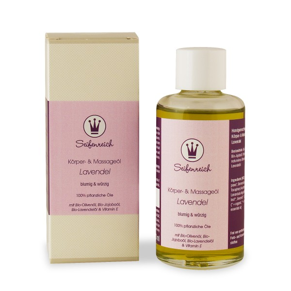 Körper- & Massageöl Lavendel