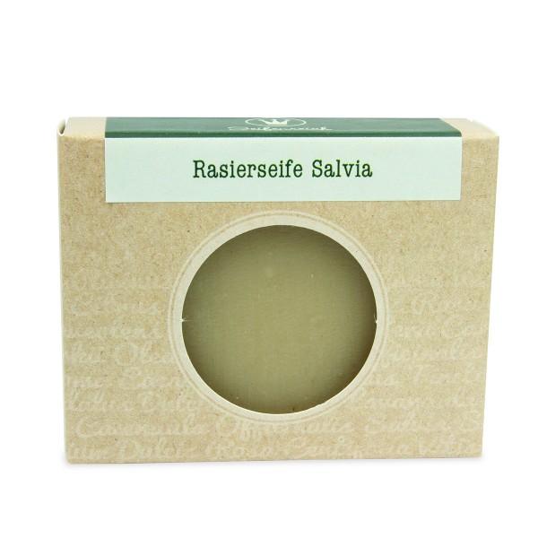 Rasierseife Salvia - Stückseife
