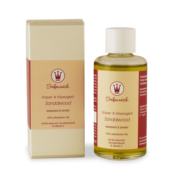 Körper- & Massageöl Sandalwood